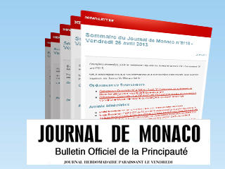 illustration Newsletter du Journal de Monaco