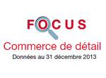 Couverture Focus Commerce de détail 2013