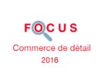 Couverture Focus Commerce de détail 2016