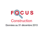 Couverture Focus Construction 2013