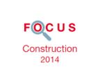 Couverture Focus Construction 2014