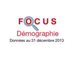 Couverture Focus Démographie 2013
