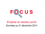 Couverture Focus Emplois 2014