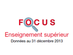 Couverture Focus Enseignement supérieur 2013