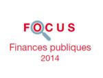 Couverture Focus Finances publiques 2014