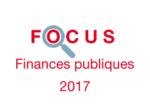 Couverture Focus Finances publiques 2017
