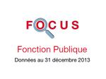Couverture Focus Fonction Publique 2013