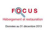 Couverture : Focus - Hébergement et Restauration 2013