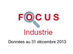 Couverture : Focus - Industrie 2013