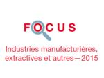 Couverture Focus Industrie 2015