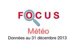 Couverture Focus : Météo 2013