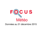 Couverture Focus Météo 2015