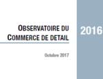 Couverture Observatoire Commerce de détail 2016