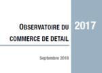 Couverture Observatoire Commerce de détail 2017