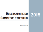 Couverture Observatoire Commerce extérieur 2015