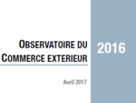 Couverture Observatoire Commerce extérieur 2016