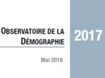 Couverture Observatoire Démographie 2017