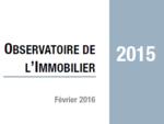 Couverture Observatoire Immobilier 2015