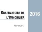 Couverture Observatoire Immobilier 2016