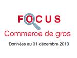 Couverture Focus Commerce de gros 2013