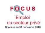 Couverture Focus Emploi 2013