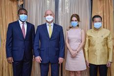 Diplomatie : de nouveaux Ambassadeurs accrédités / Géorgie - Afrique du Sud - Thaïlande