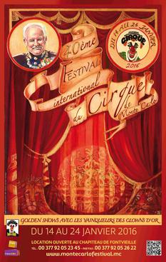 Affiche cirque 2016