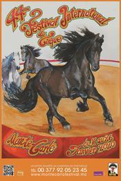 Affiche 44e Festival International du Cirque de Monte-Carlo