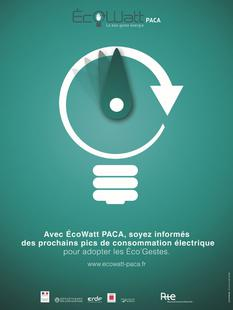 Affiche-ecowatt-paca-institutionnel - © ecowattpaca