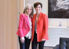 Céline Cottalorda et Ambassadeur du Canada à Monaco - ©DR