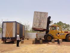 Containers Burkina Faso - ©DR