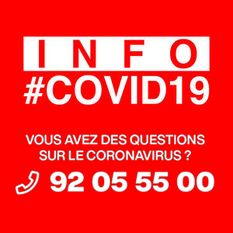 Infocovid 2020 - ©Direction de la Communication
