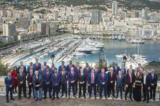 L'A.S. Monaco Basket reçue par le Ministre d'Etat - Copyright - Stephane Danna