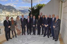 Le Ministre d'Etat reçoit les membres de la CCAF - ©Direction de la Communication/Michael Alesi