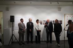 Voir la photo - Inauguration de l'exposition au Musée des Arts Modernes de Moscou © Ambassade de Monaco auprès de la Fédération de Russie