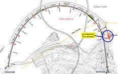 plan tirs d'essais tunnel RIII - ©DR
