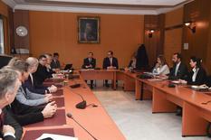 Première réunion du comité stratégique de la E-Santé - Copyright - Direction de la Communication / Michael Alési