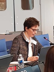 Réunion conseil Ministres - Marie-Noëlle Albertini, Conseiller diplomatique auprès du Conseiller de Gouvernement-Ministre des Relations Extérieures et de la Coopération ©DR