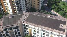 toit caserne pompiers fontvieille - ©DR