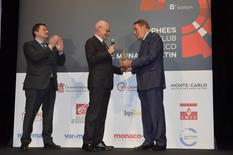 Trophée de l'éco 1 - Remise du Prix Spécial à Michel Boeri, Président de l'Automobile Club de Monaco par le Ministre d'Etat ©Direction de la Communication/Michael Alesi