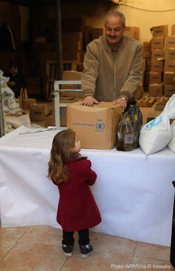 Urgence Syrie - © Programme Alimentaire Mondiale