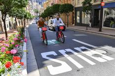 Vélos : nouvelle voie cyclable entre Fontvieille et le Port Hercule et création de 3 stations Monabike